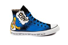 NEW CONVERSE CT CHUCK TAYLOR SIMPSONS HOMER DOH! 12 Limited Edition 141392C NWT #Converse #Athletic