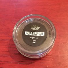 Night Sky Bare Minerals Eyeshadow Brand new and sealed eyeshadow in the shade night sky from Bare Minerals. No trades. Please ask if you have any questions, need any measurements or more pictures.   ✨ Feel free to make an offer✨  ✨Always willing to bundle✨ bareMinerals Makeup Eyeshadow