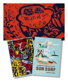 Style No. SS36655 (Special Edition)  「GAUGUIN WOODCUT MYSTIC」 KAMEHAMEHA