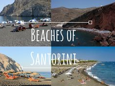 The Best Beaches of Santorini - Esperas Hotel Santorini Beaches, Santorini Island, Image Types, Honeymoon Destinations, Beach Photos, Google Images, Natural Beauty, Greece, Environment
