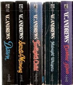 dawn series by v.c. andrews  I love this series.... even re-read them