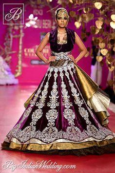 Ritu Beri designer lehenga collection