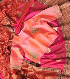 End Customization with Hand Embroidery & beautiful Zardosi Art by Expert & Experienced Artist That reflect in Blouse , Lehenga & Sarees Designer creativity that will sunshine You & your Party. Sari Blouse Designs, Blouse Patterns, Blouse Styles, Indian Couture, Work Blouse, Indian Designer Wear, Fashion Wear, Saree Blouse, Indian Wear