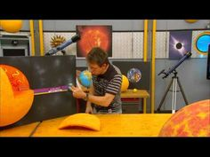 C'est pas Sorcier(l'Essentiel) La Lune, Les Eclipses. - YouTube
