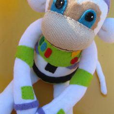 Buzz lightyear sock monkey