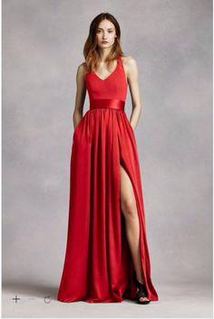 "Alexis' Dress - ""Valentina"" red shade"