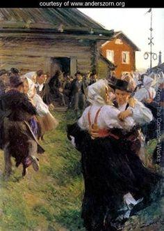 Midsummer Dance - Anders Zorn - www.anderszorn.org