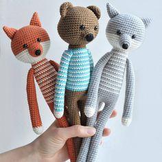 Un jouet renard en crochet - Marie Claire Idées