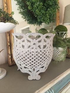 Gorgeous Antique Cast Iron Jardiniere Made In Italy By Frenchtwine | Garden  Fixtures | Pinterest | Cast Iron, Iron And Italy