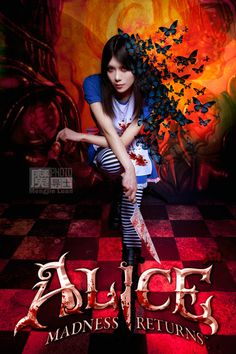 Alice Madness Returns cosplay. SO GOOD
