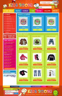 PrestaShop w kolorach, czyli KidsBoom - sklep z zabawkami.