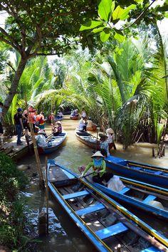 Mekong Delta Mekong Delta, Vietnam, Asia