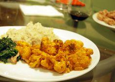 Reteta de post a zilei: Curry de conopida cu orez   Articole Curry, Rice, Ethnic Recipes, Food, Curries, Eten, Meals, Diet