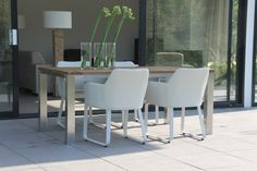 #tuinset #eetset #tuinmeubels #tuinmeubelen #furniture #outdoor #patio #modern ♥ #Fonteyn