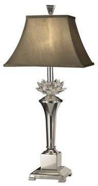 Dale Tiffany GT11218 Paseo 1 Light Table Lamp - transitional - Table Lamps - Buildcom