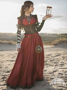 "Steampunk Dress, Corset and Chemise Costume ""The Alchemists daughter""; steampunk gown; steampunk clothing on Etsy, $616.00"