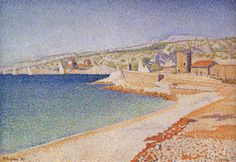 the-jetty-at-cassis-opus-198-1889 - Paul SIGNAC