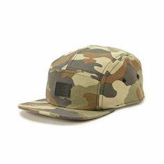 Vans Camo 5 Panel Hat