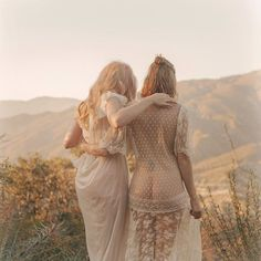 Jena Malone & Hannah Metz by Elias Tahan.