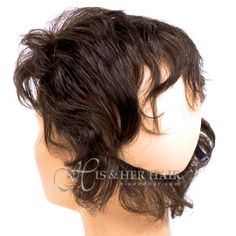 Fall and Wiglets Hairpieces : Human Hair Wig Human Hair Wigs, Hair Pieces, Dreadlocks, Hair Styles, Beauty, Fashion, Beleza, Dreads, Moda