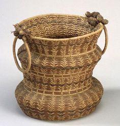 Northeast Pine Needle Basket | c. early 20th century