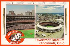 Riverfront Stadium - watched the Big Red Machine here as a kid