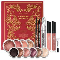 Bare Escentuals bareMinerals Storybook Romance Set ($79) ❤ liked on Polyvore featuring beauty products, makeup, no color, bare escentuals makeup, bare escentuals cosmetics, bare escentuals and long wear makeup