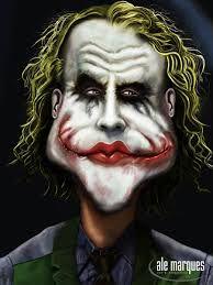 joker caricature - Google Search