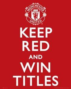 Manchester United, always winning titles