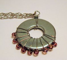 Washer Necklace by Kimberlie Kohler, via Flickr