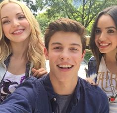 Shawn Mendes, Dove Cameron, and Sophia Carson