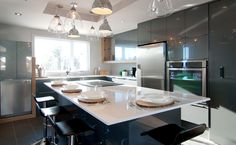 Cuisine au design contemporain