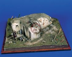 diorama bunker