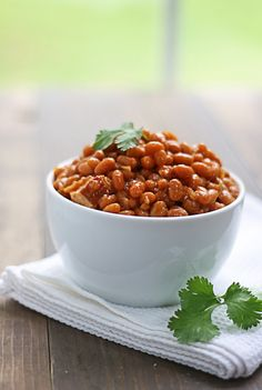 Honey Chipotle Baked Beans.  Perfect for BBQ's.