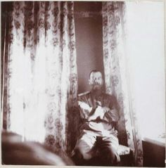 Nicolás II en el ala infantil del Palacio de Alexandrovski.