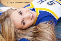 Cheer / Cheerleader / Cheerleading Portrait / Photo / Picture Idea