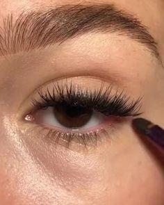 Makeup Eye Looks, Eye Makeup Steps, Natural Eye Makeup, Cute Makeup, Smokey Eye Makeup, Skin Makeup, Eyeshadow Makeup, Glam Makeup, Smudged Eyeliner