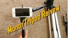 ►http://amzn.to/1rr8ReG or ►http://ebay.to/1zo16dr  [Best Mono-pod w/ Camera Remote Phone & Digital Cameras]  Video Title: Best Buy Mono-pod, Tripod, & Mini tripod Review for Camera, iPhone 4/5/6, Android, Olympus, Nikon, Cannon, etc.  This video was made to expose viewers to the best device to take the best pictures and video for any situation! I'm sure you have been in a situation where someone else was not available to take your photo. Now you can use these tripods to mount your cell…
