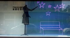 """Bon Marché,""""Stars in your eyes"""",pinned by Ton van der Veer"""