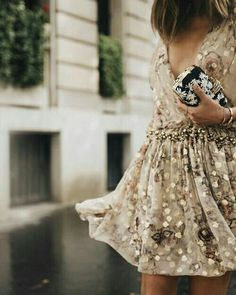 .shimmery detail dress