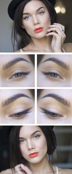 Todays look – Simple eyeliner - Lindas Sminkblogg