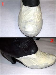Diy & glam: DIY Transforma unas botas viejas en nuevas Old Cowboy Boots, Tap Shoes, Dance Shoes, Shoe Refashion, Cutout Boots, Socks And Heels, Glitter Shoes, Dress Sewing Patterns, Ciabatta