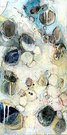 Pebbles Revenge - Lesley Clarke - acrylicl