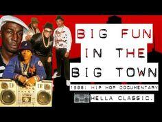 YouTube 1986 rare hip hop documentary