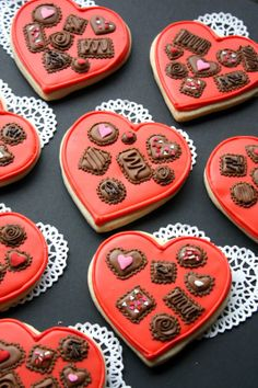 Box of Chocolates Cookie by Munchkin Munchies.