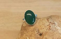 Green agate ring. Reiki jewelry uk. Crystal Reiki for the throat chakra.  Gemini jewelry. Adjustable ring. Green semi precious stone ring by empoweredcrystals on Etsy https://www.etsy.com/listing/241659495/green-agate-ring-reiki-jewelry-uk