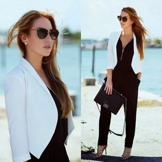 Chanel Bag, Hot Miami Styles Blazer And Jumpsuit