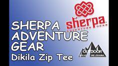 SHERPA ADVENTURE GEAR Dikila Zip Tee Adventure Gear, Gears, Zip, Outdoor Clothing, Innovative Products, Education, Life, Gear Train