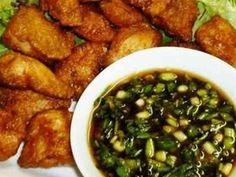 鶏ささみのから揚げ✿香味ソース添えの画像