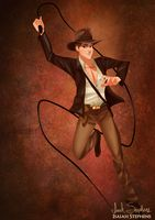 Prince Phillips as Indiana Jones by IsaiahStephens on Deviant art